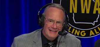 After racist on-air remarks, wrestling commentator quits
