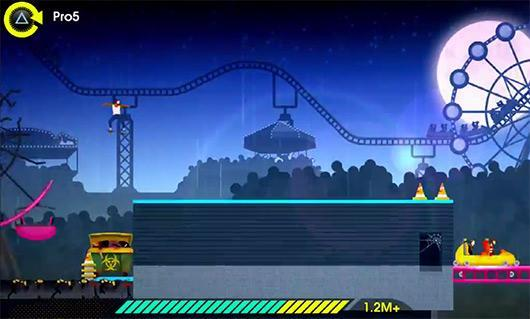 Visit exotic locations and grind on them in OlliOlli 2
