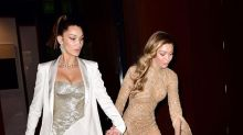 Gigi Hadid almost totally wiped out in her couture gown