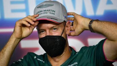"""Vettel critica a la UEFA por prohibición de protesta """"arcoíris"""""""