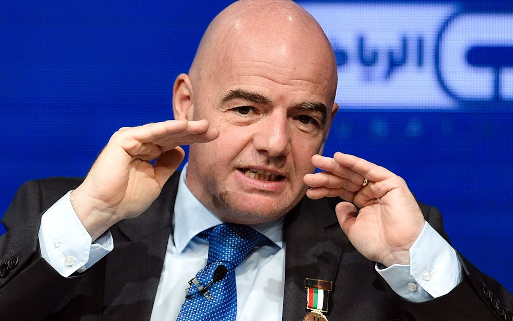 Fifa has been hit by another crisis - AFP or licensors