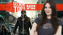 """GS News Top 5 - Titanfall """"game changing""""; What's up with Watch Dogs?"""