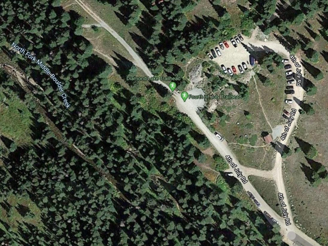 Park visitors at the Buckingham Campground came across a body Wednesday, Boulder County officials said.