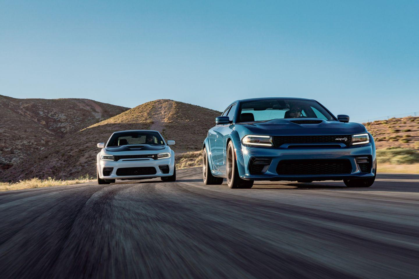 View Photos Of The 2020 Dodge Charger Scat Pack And Srt