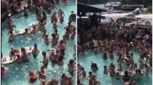 No Masks, No Social Distancing as Partying Covidiots Flood Lake of Ozarks in US