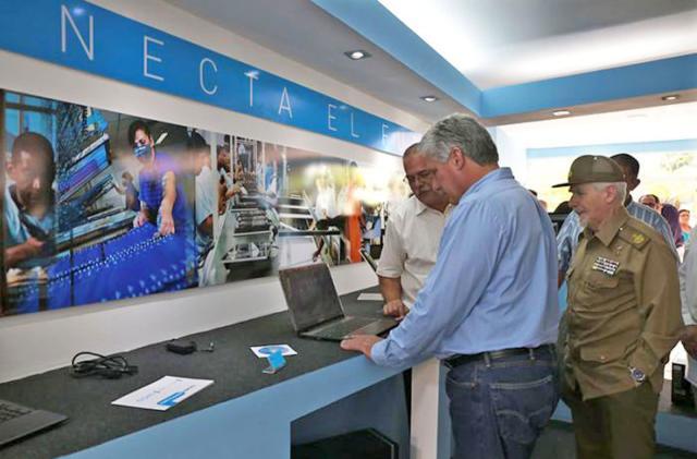 Cuba opens its first computer factory
