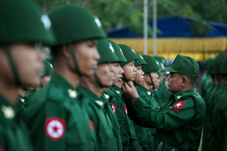 Myanmar's military has conceded some troops abused Rakhine prisoners after a video emerged on social media showing soldiers striking detainees