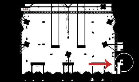 Mr. Minecraft is a god in Super Meat Boy