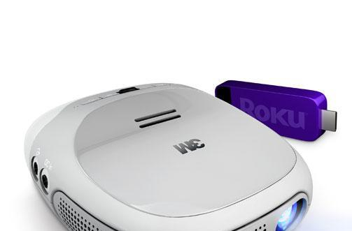 3M, Roku team up for Streaming Projector to ship this November for $299