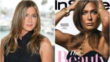 Lluvia de críticas por el color de piel de Jennifer Aniston en esta portada de InStyle