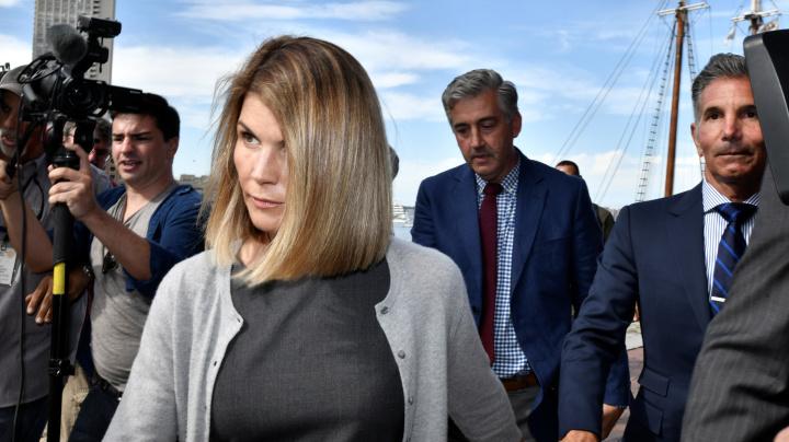 Huffman's sentence 'does not bode well for Loughlin'
