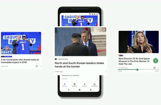 Google's AI-driven News app will make sense of the day's news
