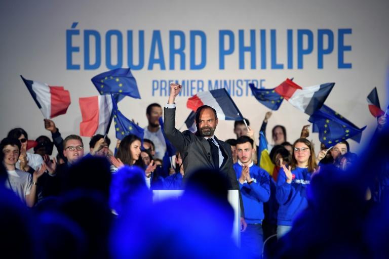Philippe, an independent, will now concentrate on serving as mayor of Le Havre after a victory there which cemented his political credibility (AFP Photo/Damien MEYER)