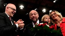 Merkel challengers fight to hang on in north Germany