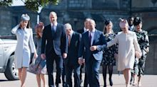 The Queen is joined by Kate, William and Harry at Easter Sunday service