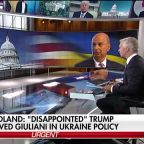 Amb. Sondland says Trump 'skeptical' Ukraine was serious about anti-corruption