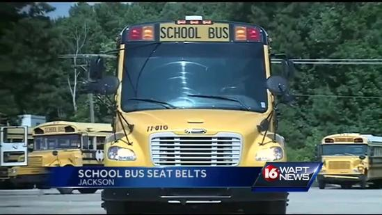 Legislators consider school bus seat belts
