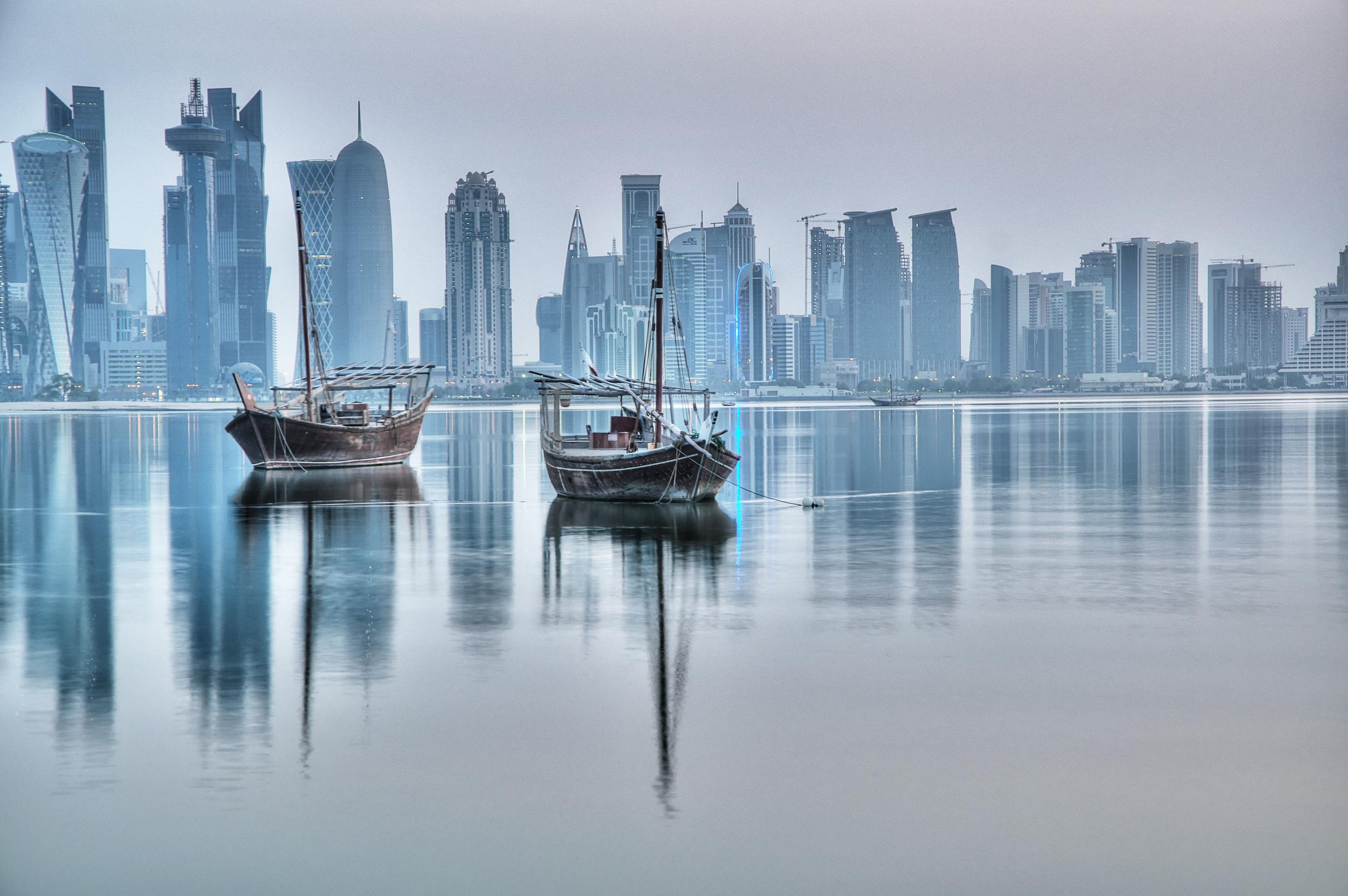 <p>Kayak has identified the ten holiday destinations that have seen the biggest price cuts since last year. Doha takes tenth place.</p>  <p>The air fare to Doha has fallen 15% since summer 2014. Right now you'll pay an average of £366 for a flight. The only thing to beware of is the temptation to shop. It has some of the most impressive luxury themed shopping malls on the planet, so you need to take a will of iron with you when you go.</p>