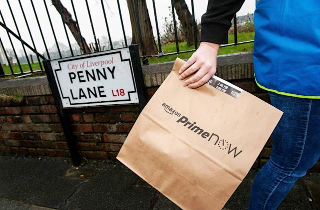 Amazon brings one-hour Prime Now deliveries to Liverpool