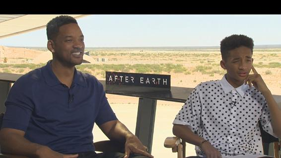 Will Smith and Jaden Smith Take On 'After Earth'
