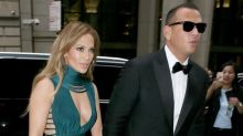 Jennifer Lopez and Alex Rodriguez Go Glam in NYC for Friend's Wedding