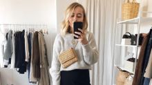 Fashion blogger reveals genius hack for tucking chunky jumpers into skirts