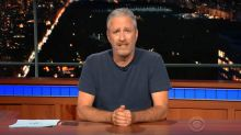 Jon Stewart Calls Out Trump For His 'Gleeful Cruelty And Dickishness'