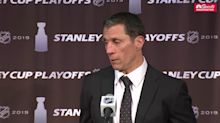 Hurricanes head coach Rod Brind'Amour fined $25,000 for criticizing NHL and referees