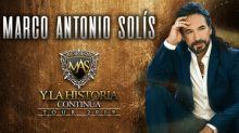 Marco Antonio Solís Announces U.S. Dates For His 2019 'Y La Historia Continúa' Tour