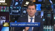 Tech stocks under pressure