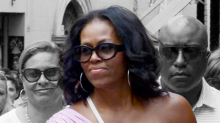 Michelle Obama's Italy Vacation Look Is All About the One-Shoulder Shirt
