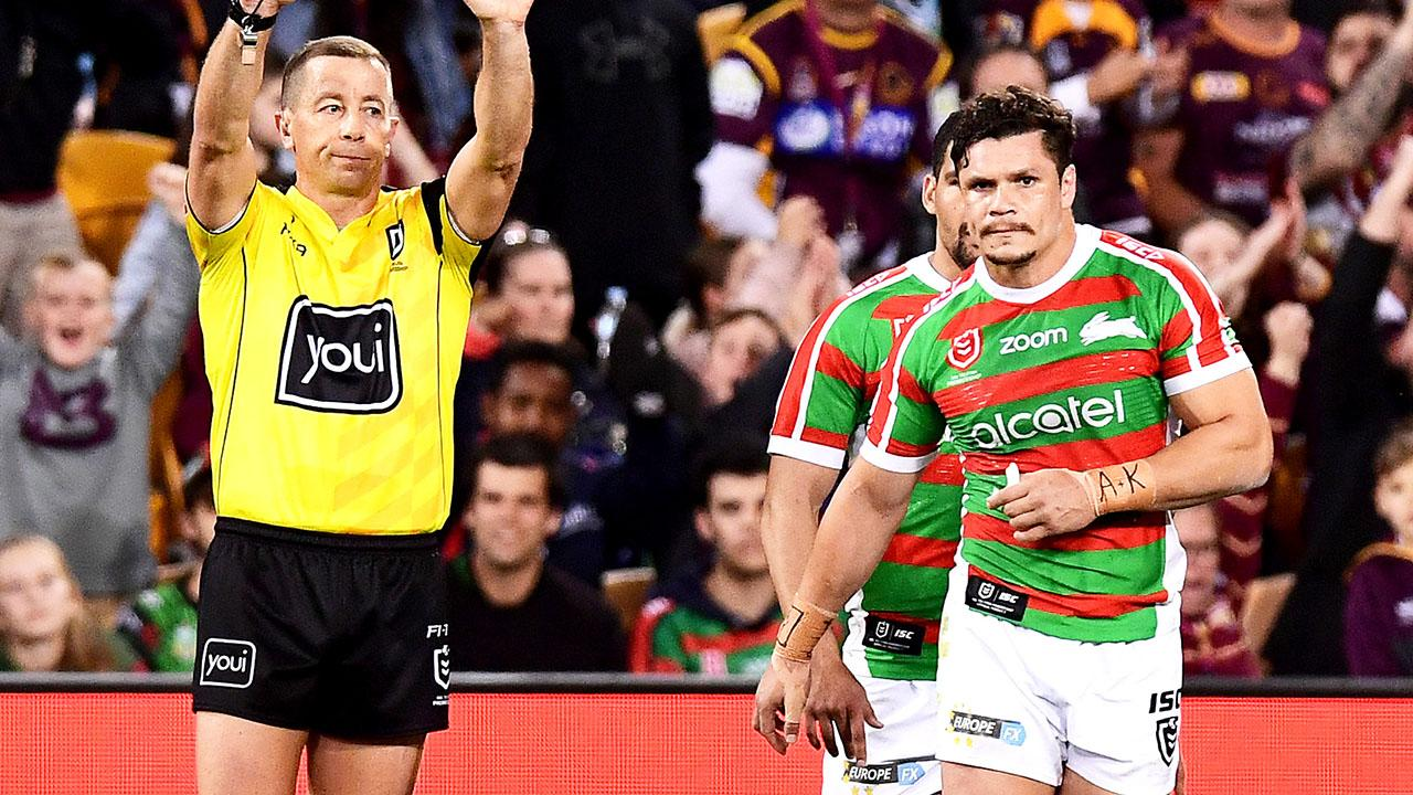 'Grubbiest I've seen': James Roberts facing NRL ban for 'dumb' act