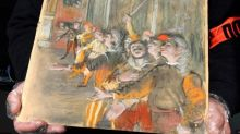 Stolen Edgar Degas painting worth £700,000 found on a bus