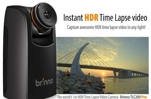 Brinno TLC200 Pro captures time lapse HDR images, sports interchangeable lenses