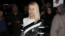 Margot Robbie Glitters Like an Olympian for   I, Tonya 's London Premiere