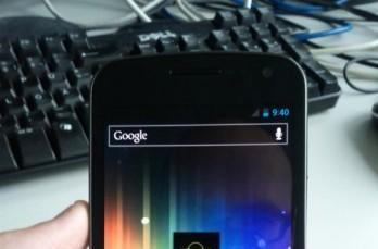 Samsung Galaxy Nexus spotted in the wild? (video)