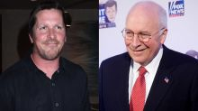 Christian Bale packs on pounds for Dick Cheney role