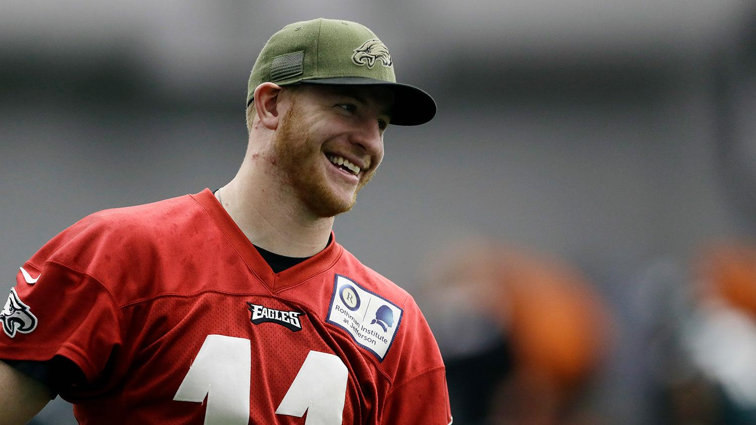 Eagles' Carson Wentz ranked outside of top 10 NFL QBs by analyst