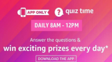 Amazon Quiz Answers 23 February: Winner Will Get Samsung M30s