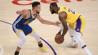 NBA playoffs: Lakers, Warriors set for play-in