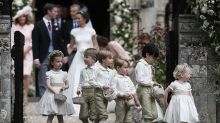 Prince George and Princess Charlotte are as adorable as ever at Pippa Middleton's wedding