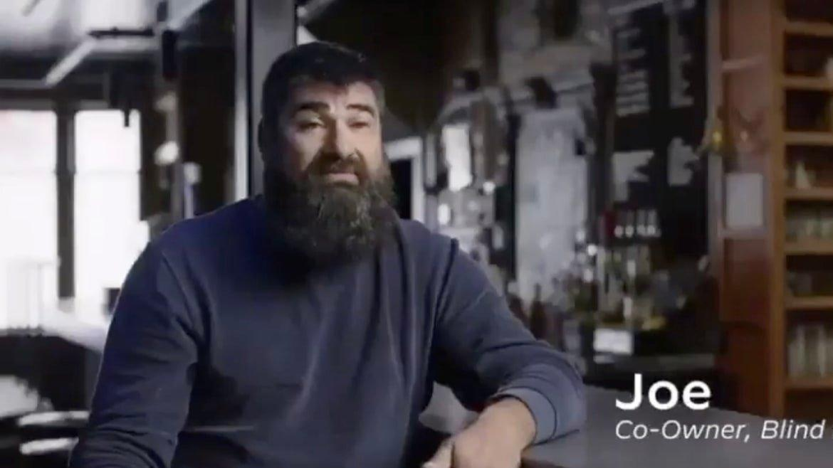 He Got Threatened and 'Doxxed'—for Appearing in a Biden Ad