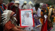 Peru shamans hold rituals, foresee good news during Pope's visit