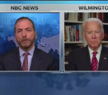 NBC's Chuck Todd Asks Biden If Trump Has 'Blood' on His Hands Over Coronavirus Response