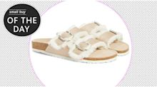 Small buy to make your day: £20 luxe-looking slippers