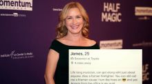 Angela from 'The Office' called out her nephew for his Tinder photo