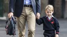 Prinz George hat seinen ersten Schultag – aber wo war Mama Kate?