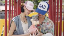 Actress-model Sheila Sim is expecting a baby girl after keeping pregnancy under wraps