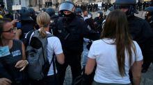 Berliner Verfassungsschutz: Eskalation vor Reichstag bei Corona-Demo kam spontan