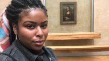 Mulheres negras estão posando em frente à Mona Lisa. Saiba por quê